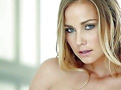 Courtney Dillon is one lovely adult model with dazzling blue