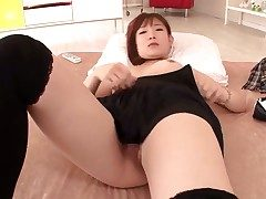 Akie Harada takes massive cum attempt upstairs the brush nice feature