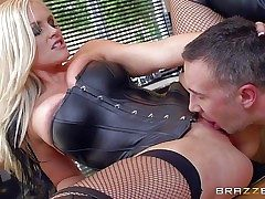 Long haired towheaded milf Alena Croft is a gorgeous domme