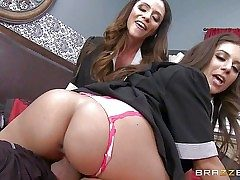 Passionate stellar Ariella Ferrera and Jynx Labyrinth are sinfully stellar