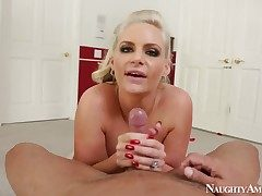 Warm damsel Phoenix Marie and Marco Banderas are