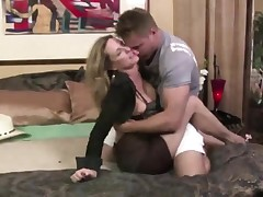 Milf Jodi West Coaxes Young Fellow To Fuck Her