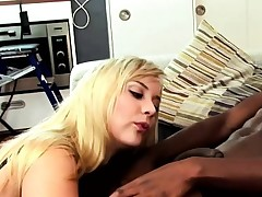 This lovely blonde can't get enough of his bbc and