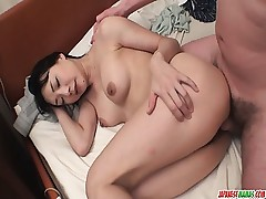 Miho Wakabayashi Gargles In POV And Gets Creampied