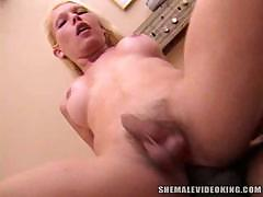 Shemale interracial bonking scenes