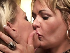 naughty dyke cougar moms go all the way girly-girl